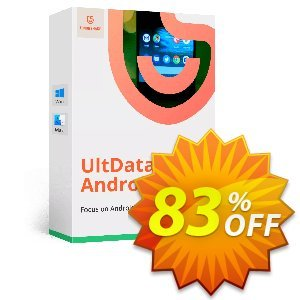 Tenorshare UltData for Android (6-10 Devices) discount coupon Promotion code - Offer discount