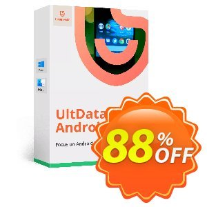Tenorshare UltData for Android (11-15 Devices) Coupon, discount Promotion code. Promotion: Offer discount