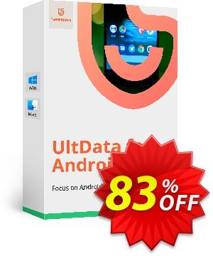Tenorshare UltData for Android/Mac (6-10 Devices) discount coupon Promotion code - Offer discount