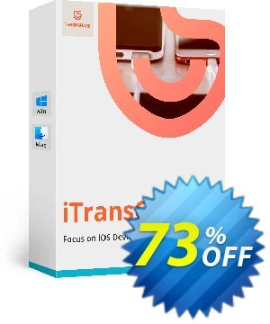 Tenorshare iTransGo Coupon, discount discount. Promotion: coupon code