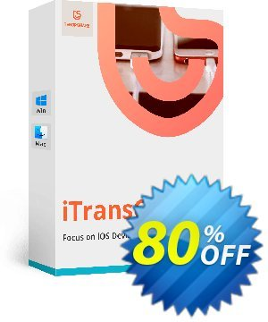 Tenorshare iTransGo for Mac (6-10 Devices) Coupon, discount discount. Promotion: coupon code