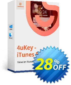 Tenorshare 4uKey iTunes Backup for Mac (6-10 Devices) discount coupon discount - coupon code
