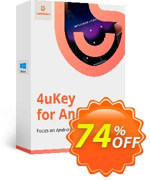 Tenorshare 4uKey for Android (Lifetime License) 프로모션 코드 discount 프로모션: coupon code