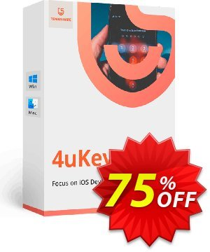 Tenorshare 4uKey (6-10 Devices) Coupon, discount discount. Promotion: coupon code