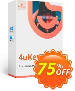 Tenorshare 4uKey  (11-15 Devices) Coupon, discount discount. Promotion: coupon code