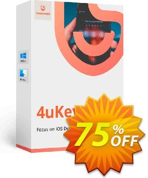 Tenorshare 4uKey (Lifetime License) Coupon, discount discount. Promotion: coupon code