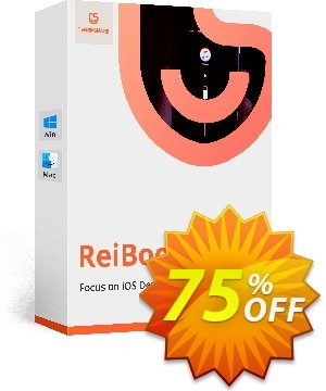 Tenorshare ReiBoot Pro (1 Month License) 優惠券,折扣碼 discount,促銷代碼: coupon code