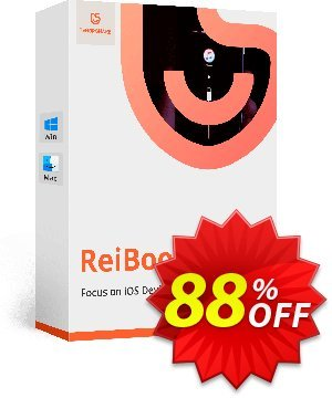 Tenorshare ReiBoot Pro (11-15 Devices) Coupon, discount discount. Promotion: coupon code