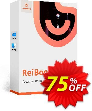 Tenorshare ReiBoot Pro (Lifetime License) discount coupon discount - coupon code