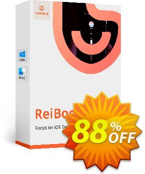 Get Tenorshare ReiBoot Pro for Mac (11-15 Devices) 88% OFF coupon code