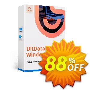 Tenorshare UltData - Windows Data Recovery (6-10 PCs) Coupon discount discount. Promotion: coupon code