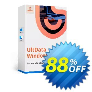 Tenorshare UltData Windows Data Recovery (11-15 PCs) Coupon, discount discount. Promotion: coupon code
