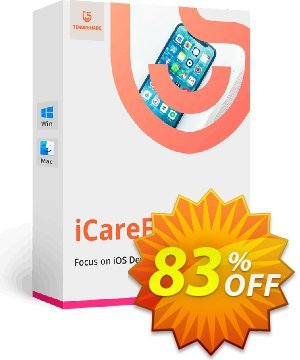Tenorshare iCareFone (2-5 PCs) 프로모션 코드 83% OFF Tenorshare iCareFone (2-5 PCs), verified 프로모션: Stunning promo code of Tenorshare iCareFone (2-5 PCs), tested & approved