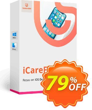 Tenorshare iCareFone for Mac (1 Month License) 優惠券,折扣碼 Promotion code,促銷代碼: Offer discount