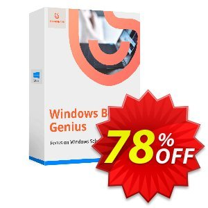 Tenorshare Windows Boot Genius (2-5 PCs) 優惠券,折扣碼 Promotion code,促銷代碼: Offer discount