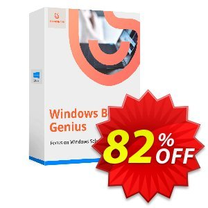 Tenorshare Windows Boot Genius (1 Year/6-10 PCs) Coupon discount Promotion code - Offer discount