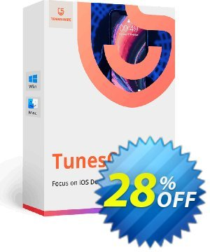 Tenorshare TunesCare Pro (1 Month License) Coupon, discount discount. Promotion: coupon code