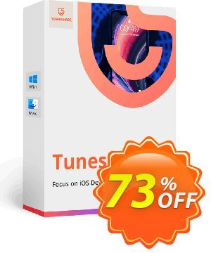 Tenorshare TunesCare Pro for Mac (Lifetime/1-5 Macs) 優惠券,折扣碼 discount,促銷代碼: coupon code
