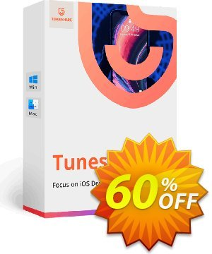 Tenorshare TunesCare Pro for Mac (1 Month License) Coupon, discount discount. Promotion: coupon code