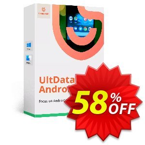 Tenorshare UltData for Android (Unlimited License) discount coupon Promotion code - Offer discount