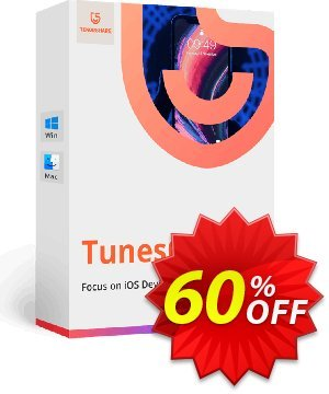 Tenorshare TunesCare Pro (Unlimited License) Coupon, discount discount. Promotion: coupon code