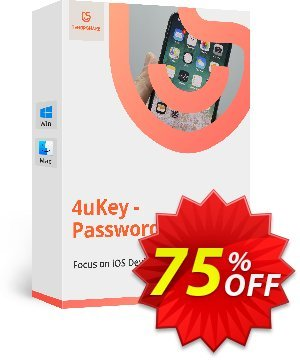 Tenorshare 4uKey Password Manager discount coupon 68% OFF Tenorshare 4uKey Password Manager, verified - Stunning promo code of Tenorshare 4uKey Password Manager, tested & approved