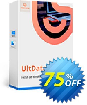 Get Tenorshare Ultdata for iOS/Mac (1 Year License) 75% OFF coupon code