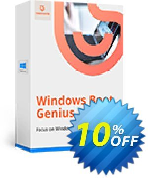 Windows Boot Genius Coupon, discount 10% Tenorshare 29742. Promotion: