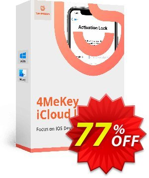 Tenorshare 4MeKey (1 Year License) Coupon, discount 77% OFF Tenorshare 4MeKey (1 Year License), verified. Promotion: Stunning promo code of Tenorshare 4MeKey (1 Year License), tested & approved