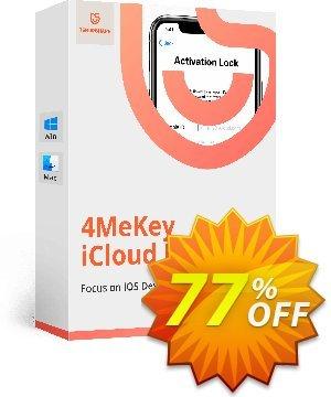 Tenorshare 4MeKey (Lifetime License) Coupon, discount 77% OFF Tenorshare 4MeKey (Lifetime License), verified. Promotion: Stunning promo code of Tenorshare 4MeKey (Lifetime License), tested & approved