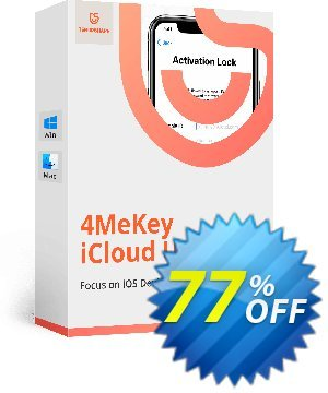 Tenorshare 4MeKey for MAC (Lifetime License) Coupon, discount 77% OFF Tenorshare 4MeKey for MAC (Lifetime License), verified. Promotion: Stunning promo code of Tenorshare 4MeKey for MAC (Lifetime License), tested & approved