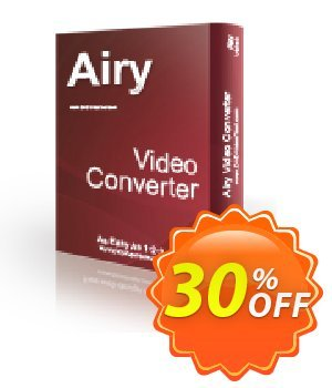 Airy Video Converter Coupon, discount Airy Video Converter Excellent sales code 2020. Promotion: Excellent sales code of Airy Video Converter 2020