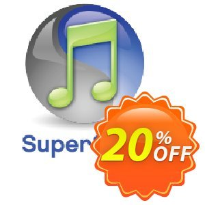 SuperSync iTunes Library Manager Coupon, discount SuperSync iTunes Library Manager  2-pak - Managing iTunes libraries made easy! Hottest sales code 2020. Promotion: Hottest sales code of SuperSync iTunes Library Manager  2-pak - Managing iTunes libraries made easy! 2020