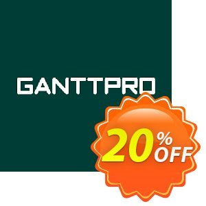 GanttPRO License Coupon, discount GanttPRO License (subscription) Fearsome discounts code 2020. Promotion: Fearsome discounts code of GanttPRO License (subscription) 2020