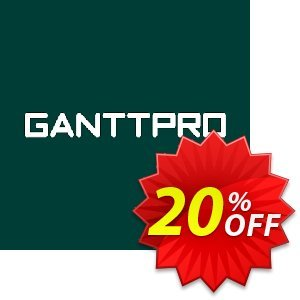 GanttPRO License Local Coupon discount GanttPRO License (subscription) Local Imposing offer code 2020. Promotion: Imposing offer code of GanttPRO License (subscription) Local 2020