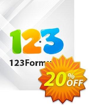 123Formulier Platina (maandelijks abonnement) discount coupon 123Formulier Platina - maandelijks abonnement Impressive sales code 2021 - Impressive sales code of 123Formulier Platina - maandelijks abonnement 2021