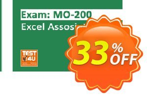 MO-200 Excel Associate Exam discount coupon MO-200 Excel Associate Exam - Office 365 & Office 2019 - English version - 25 hours of access Big discount code 2021 - Big discount code of MO-200 Excel Associate Exam - Office 365 & Office 2019 - English version - 25 hours of access 2021