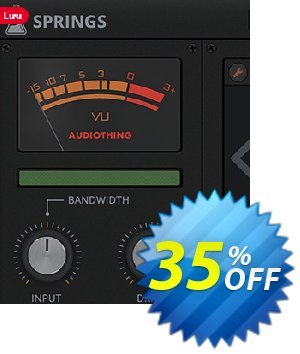 AudioThing Springs discount coupon Summer Sale 2021 - Awful discount code of Springs 2021