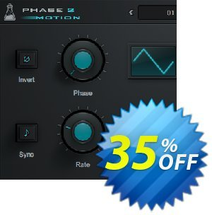 AudioThing Phase Motion 2 discount coupon Summer Sale 2021 - Staggering promotions code of Phase Motion 2 2021