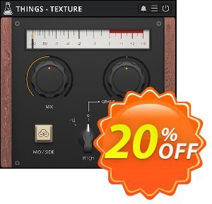 AudioThing Texture discount coupon Things - Texture Marvelous deals code 2021 - Marvelous deals code of Things - Texture 2021