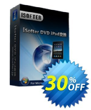 iSofter DVD iPad変換 Coupon, discount iSofter DVD iPad変換 Special sales code 2021. Promotion: Special sales code of iSofter DVD iPad変換 2021