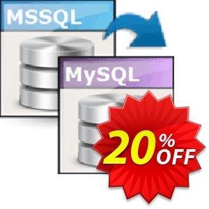 Viobo MSSQL to MySQL Data Migrator Business discount coupon Viobo MSSQL to MySQL Data Migrator Bus. Amazing deals code 2021 - Amazing deals code of Viobo MSSQL to MySQL Data Migrator Bus. 2021