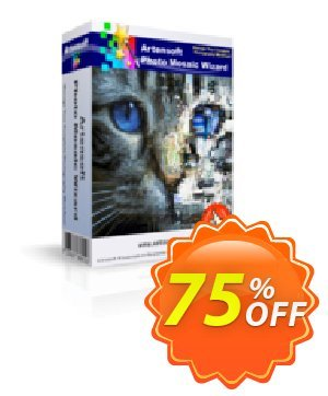 Artensoft Photo Mosaic Wizard (Business License) Coupon, discount discount 75%. Promotion: impressive deals code of Artensoft Photo Mosaic Wizard (Business License) 2021