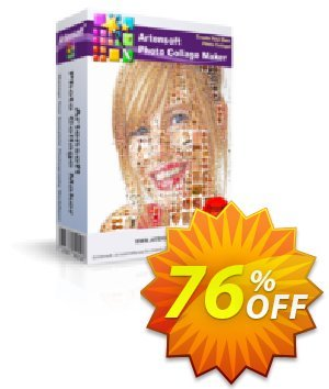 Artensoft Photo Collage Maker - Business License 優惠券,折扣碼 discount 75%,促銷代碼: dreaded promo code of Artensoft Photo Collage Maker (Business License) 2020