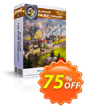 Artensoft Tilt Shift Generator Coupon, discount ARTENSOFT75EETEW. Promotion: