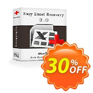 Easy Excel Recovery Coupon, discount Easy Excel Recovery Personal License awesome discounts code 2019. Promotion: MunSoft discount promotion