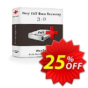 Easy FAT Data Recovery 優惠券,折扣碼 MunSoft coupon (31351),促銷代碼: MunSoft discount promotion