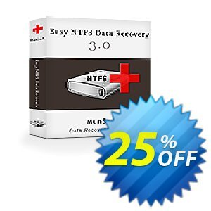 Easy NTFS Data Recovery Coupon discount MunSoft coupon (31351). Promotion: MunSoft discount promotion