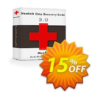 MunSoft Data Recovery Suite (Business License) discount coupon 15% OFF MunSoft Data Recovery Suite (Business License), verified - Amazing discount code of MunSoft Data Recovery Suite (Business License), tested & approved