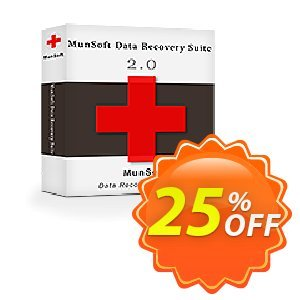MunSoft Data Recovery Suite Coupon discount MunSoft coupon (31351). Promotion: MunSoft discount promotion